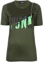 DSQUARED2 punk print T-shirt