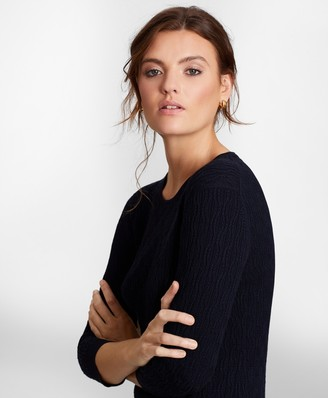 Brooks Brothers Cable-Knit Sweater