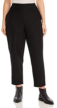 Eileen Fisher, Plus Size Tapered Ankle Pants