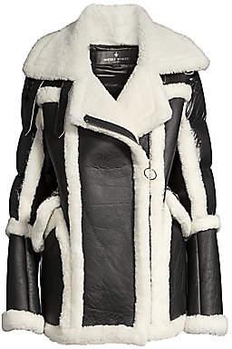 Nicole Benisti Women's Montaigne Shearling Puffer Coat