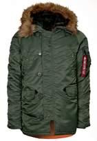 Alpha Industries Winter Jacket Sage Green