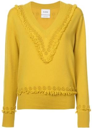 Barrie Romantic Timeless cashmere V-neck pullover