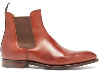 Crockett Jones Crockett & Jones - Bonnie Leather Chelsea Boots - Womens - Tan