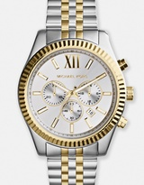 Michael Kors Lexington Two-Tone Chronograph Watch