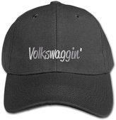 WBADLCW Big Boys' Volkswaggin Swag VW Platinum Style Baseball Snapback Cap