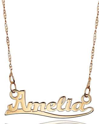 Marisota Rose Gold Personalised Name Necklace