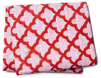 Roller Rabbit Jemina Fitted Sheet - Red