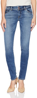 Hudson Women's Big and Tall Collin Midrise Skinny Supermodel Flap Pocket Jean