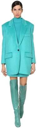 Max Mara Mohair Blend Boucle Jacket