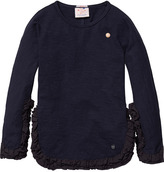 Scotch & Soda Ruffled Sweater