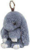 ILOVEDIY Bunny Keychain Rabbit Fur Ball Key Chains Pom Pom Key Ring Bag Pendant