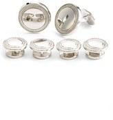 David Donahue Men's Sterling Silver Cuff Link & Stud Set