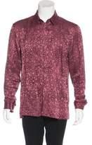 Haider Ackermann Linen & Silk Jacquard Shirt