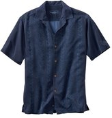 Tommy Bahama Men's 'Lei Riviera Jacquard' Regular Fit Silk Camp Shirt