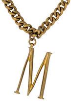 Lulu Frost Plaza Letter M Necklace