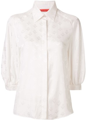 Manning Cartell Australia Logo-Print 3/4 Sleeves Shirt