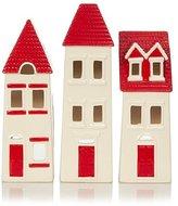George Home Set of 3 House Tealight Holders