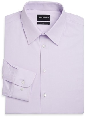 Emporio Armani Modern Fit Long Sleeve Dress Shirt