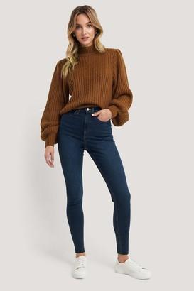 NA-KD Super High Waist Skinny Jeans