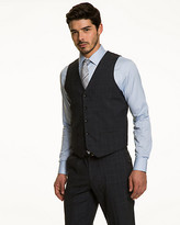 Le Château Check Contemporary Fit Vest