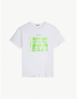 Pinko Endless Love cotton T-shirt 8-16 years