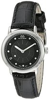 88 Rue du Rhone Women's 87WA120002 Analog Display Swiss Quartz Black Watch