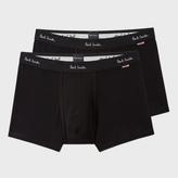 Paul Smith Men's Black Boxer Briefs Two Pack
