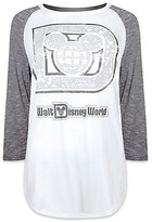 Disney Mickey Mouse Raglan Long Sleeve Tee for Women by Boutique - Walt World