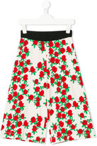 Mini Rodini rose print trousers