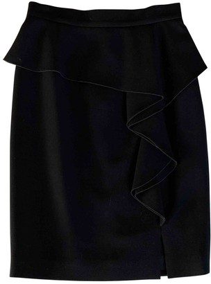 Emilio Pucci Black Wool Skirt for Women