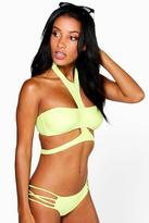 Boohoo Thailand Mix And Match Harness Bikini Top