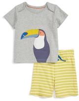 Toddler Boy's Mini Boden Fun Summer Jersey T-Shirt & Shorts Set
