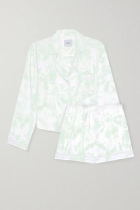 Rails Kellen Tie-dyed Jersey Pajama Set - Mint