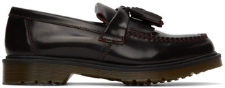 Dr. Martens Red Adrian Loafers