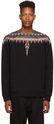 Marcelo Burlon County of Milan Black Norwegian Wings Sweatshirt