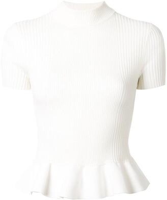Alexander Wang rib-knit T-shirt