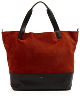 Givenchy Wave bi-colour suede and leather tote