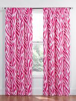 Zebra Blackout Window Curtain Panel