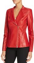 Lafayette 148 New York Austin Leather Jacket