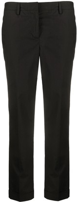 Alberto Biani Mid-Rise Slim Fit Trousers