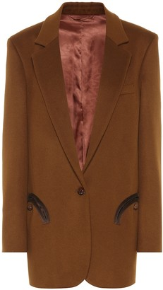 BLAZÉ MILANO Weekend wool and cashmere blazer