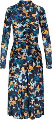 Stine Goya Asher Multi Long Sleeve Dress Size: XXS