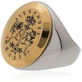 Alexander McQueen signet ring
