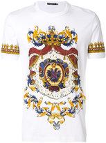 Dolce & Gabbana regal print T-shirt