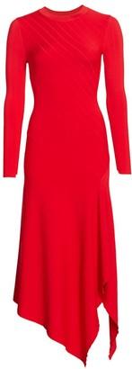 A.L.C. Viviana Knit Handkerchief Dress