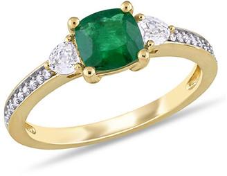 Rina Limor Fine Jewelry 14K 1.25 Ct. Tw. Diamond & Gemstone Ring