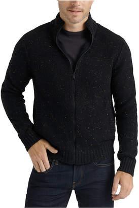 Lucky Brand Men Donegal Zip Sweater