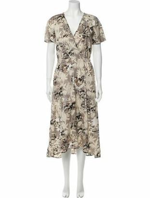 Zero Maria Cornejo Floral Print Long Dress w/ Tags