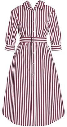 Marni Belted Stripe Cotton Shirtdress