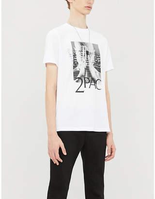 Replay 2Pac-print cotton-jersey T-shirt
